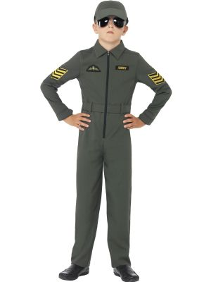 Aviator/ Fighter PIlot Costume - Boys Fancy Dress